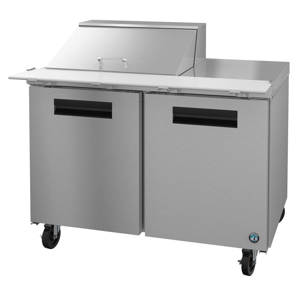 "Hoshizaki CRMR48-12M 48"" Sandwich/Salad Prep Table w/ Refrigerated Base, 115v"