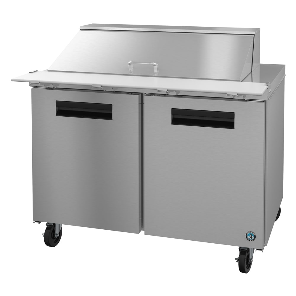 "Hoshizaki CRMR48-18M 48"" Sandwich/Salad Prep Table w/ Refrigerated Base, 115v"