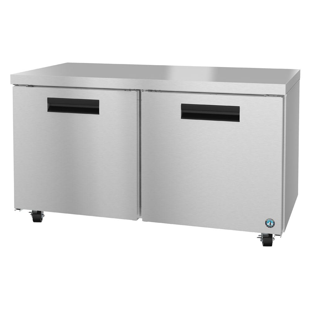 Hoshizaki CRMR60 17.55 cu ft Undercounter Refrigerator w/ (2) Sections & (2) Doors, 115v