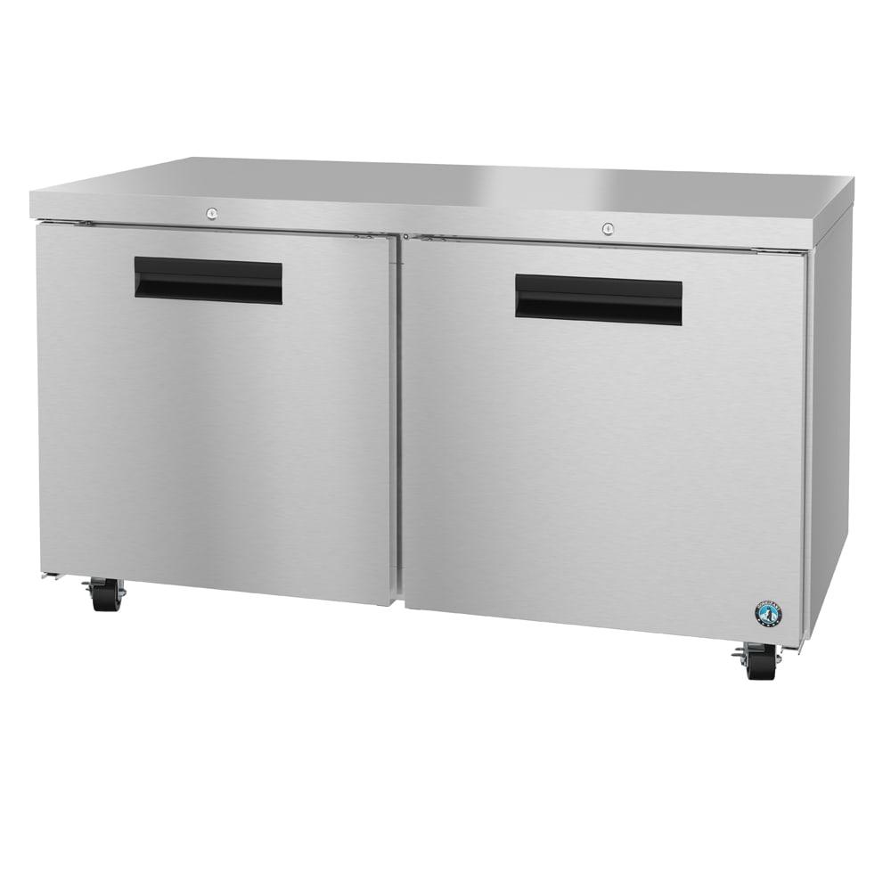 Hoshizaki CRMR60-01 17.55-cu ft Undercounter Refrigerator w/ (2) Sections & (2) Doors, 115v