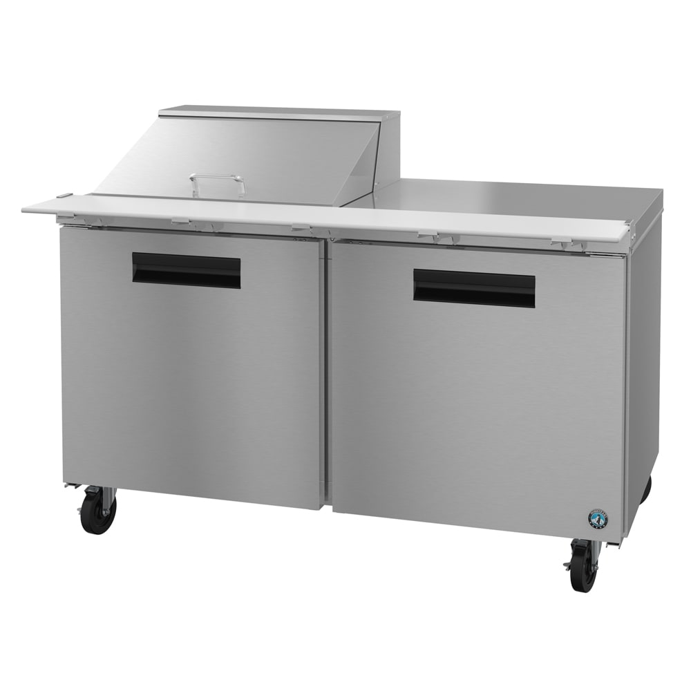 "Hoshizaki CRMR60-12M 60"" Sandwich/Salad Prep Table w/ Refrigerated Base, 115v"