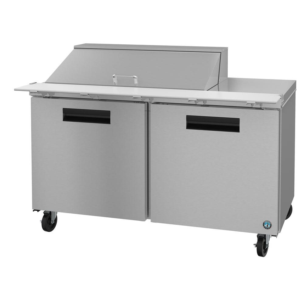 "Hoshizaki CRMR60-18M 60"" Sandwich/Salad Prep Table w/ Refrigerated Base, 115v"