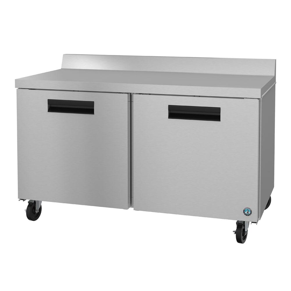 "Hoshizaki CRMR60-W 60"" Worktop Refrigerator w/ (2) Sections, 115v"