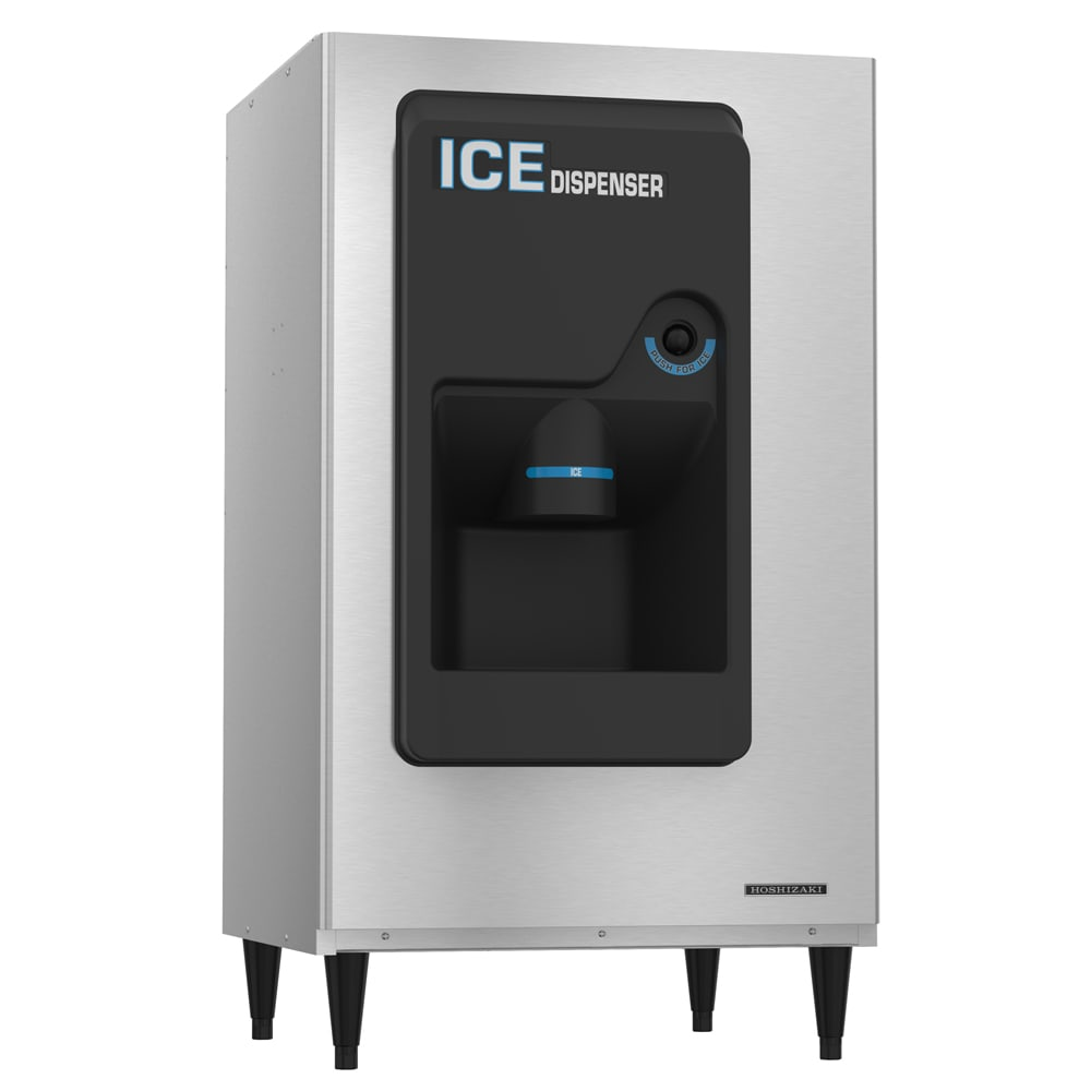 Hoshizaki DB-200H Cube Ice Dispenser w/ 140-lb Storage - Bucket Fill, 115v