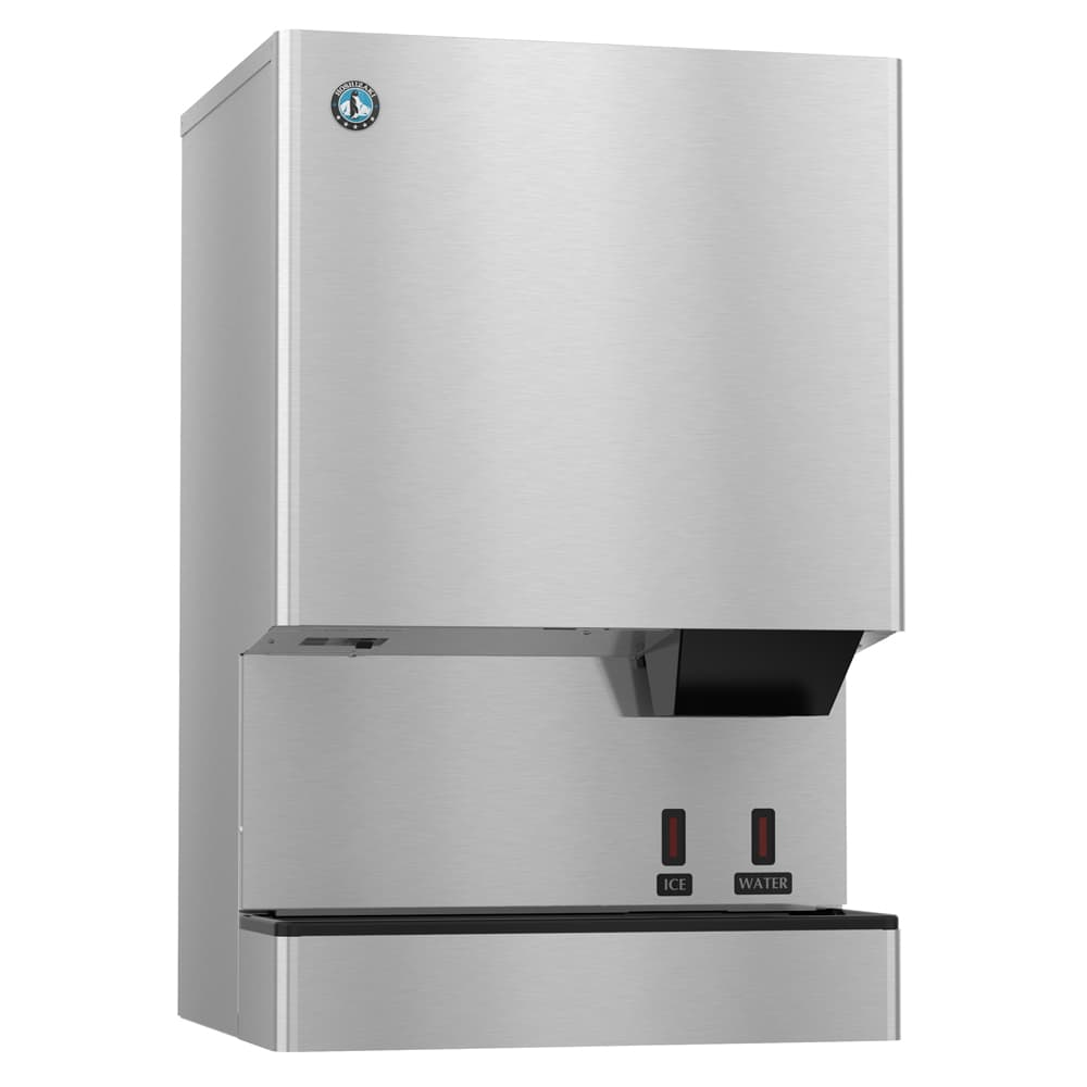Hoshizaki DCM-500BWH-OS 590 lb Countertop Nugget Ice & Water Dispenser - 40 lb Storage, Cup Fill, 115v