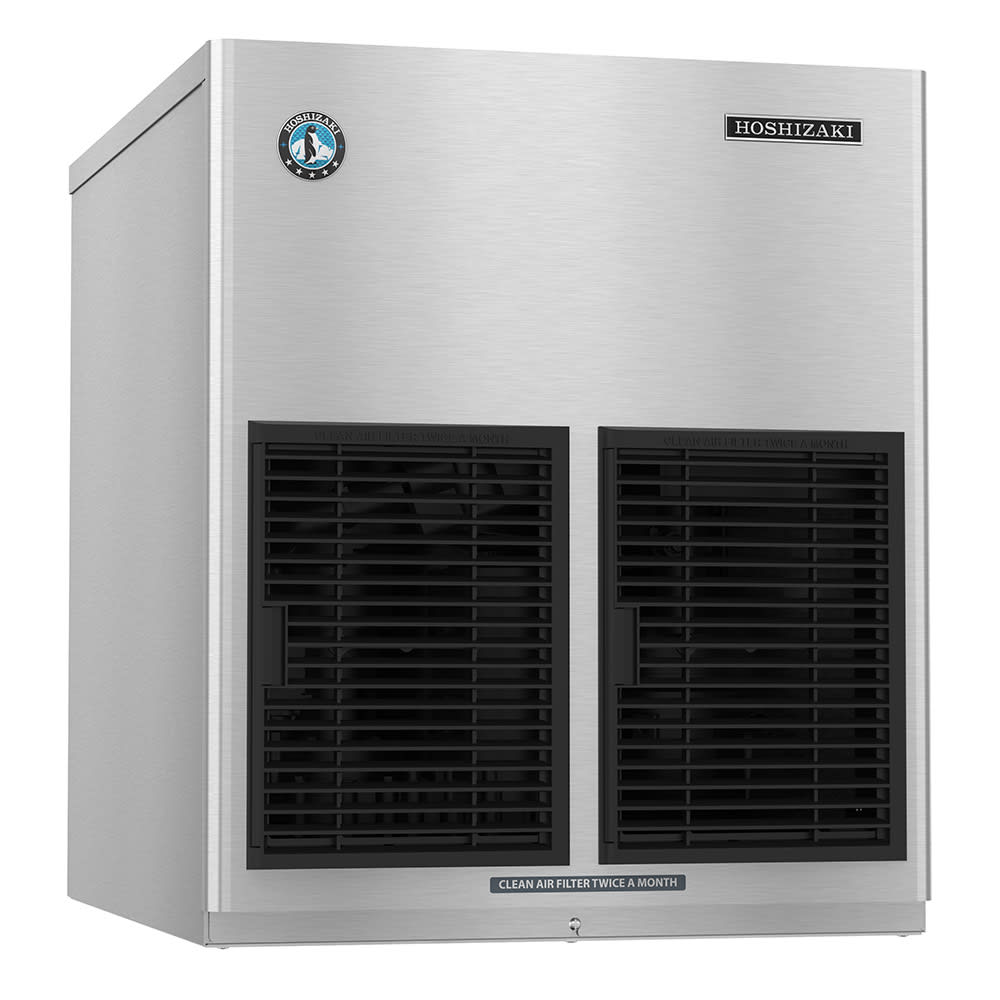 "Hoshizaki F-1002MAJ-C 22"" Half Cube Ice Machine Head - 890-lb/24-hr, Air Cooled, 115v"
