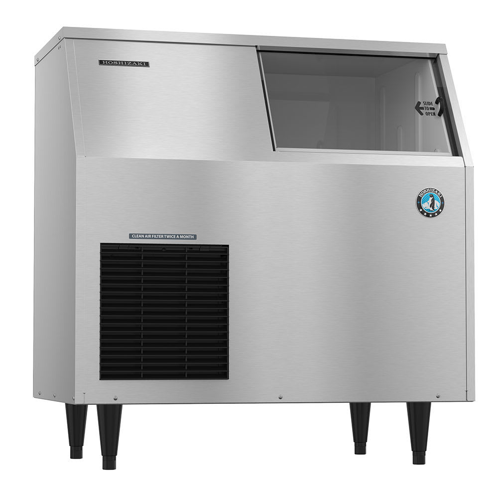 Hoshizaki F-300BAJ 353 lb. Flake Ice Maker with Bin - 110 lb. Storage, Air Cooled, 115v