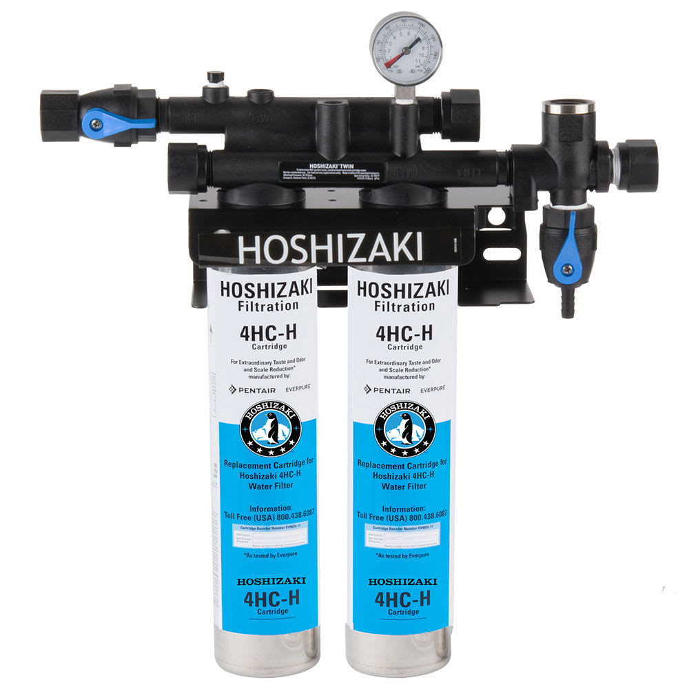 Hoshizaki H9320-52 Twin Primary Water Filter Cartridge Assembly, Tank