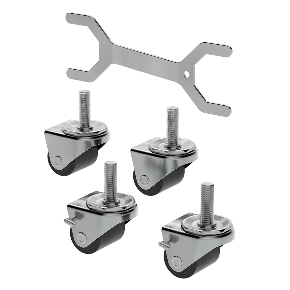 "Hoshizaki HS-5037 2.25"" Casters for (1) & (2) Section ADA Compliant Undercounter Refrigerators"