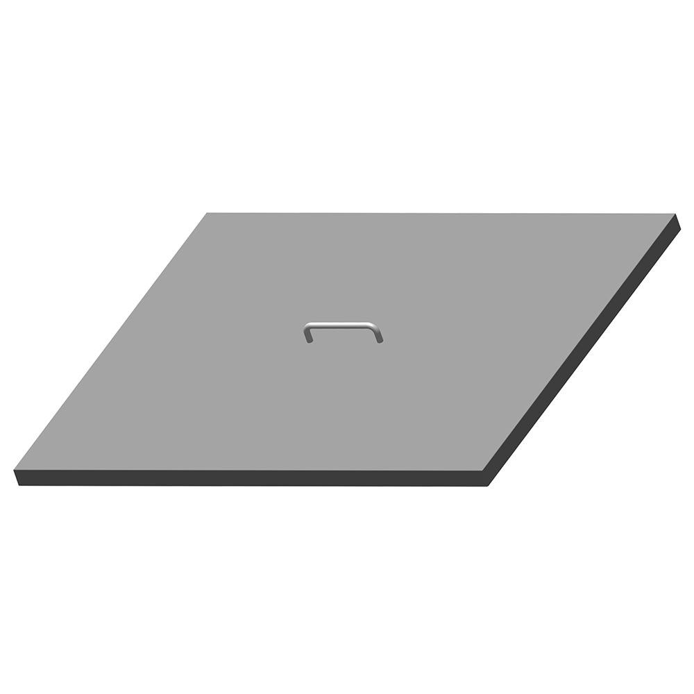 Hoshizaki HS-5070 Lift Off Cover for 12 Pan Mega Top Opening, Stainless