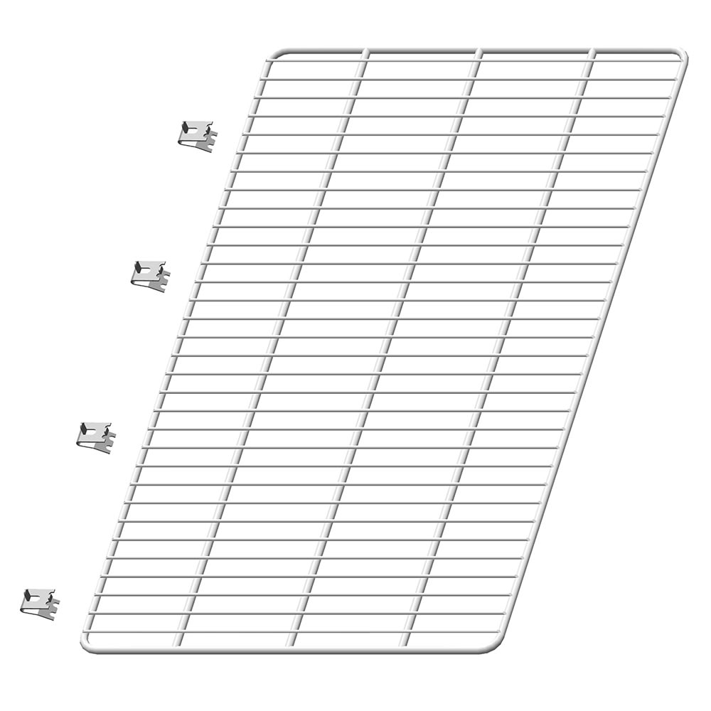 """Hoshizaki HS-5108 Replacement Shelf for CRMR60 Models - 27.25"""" x 16"""", Epoxy-Coated Wire"""