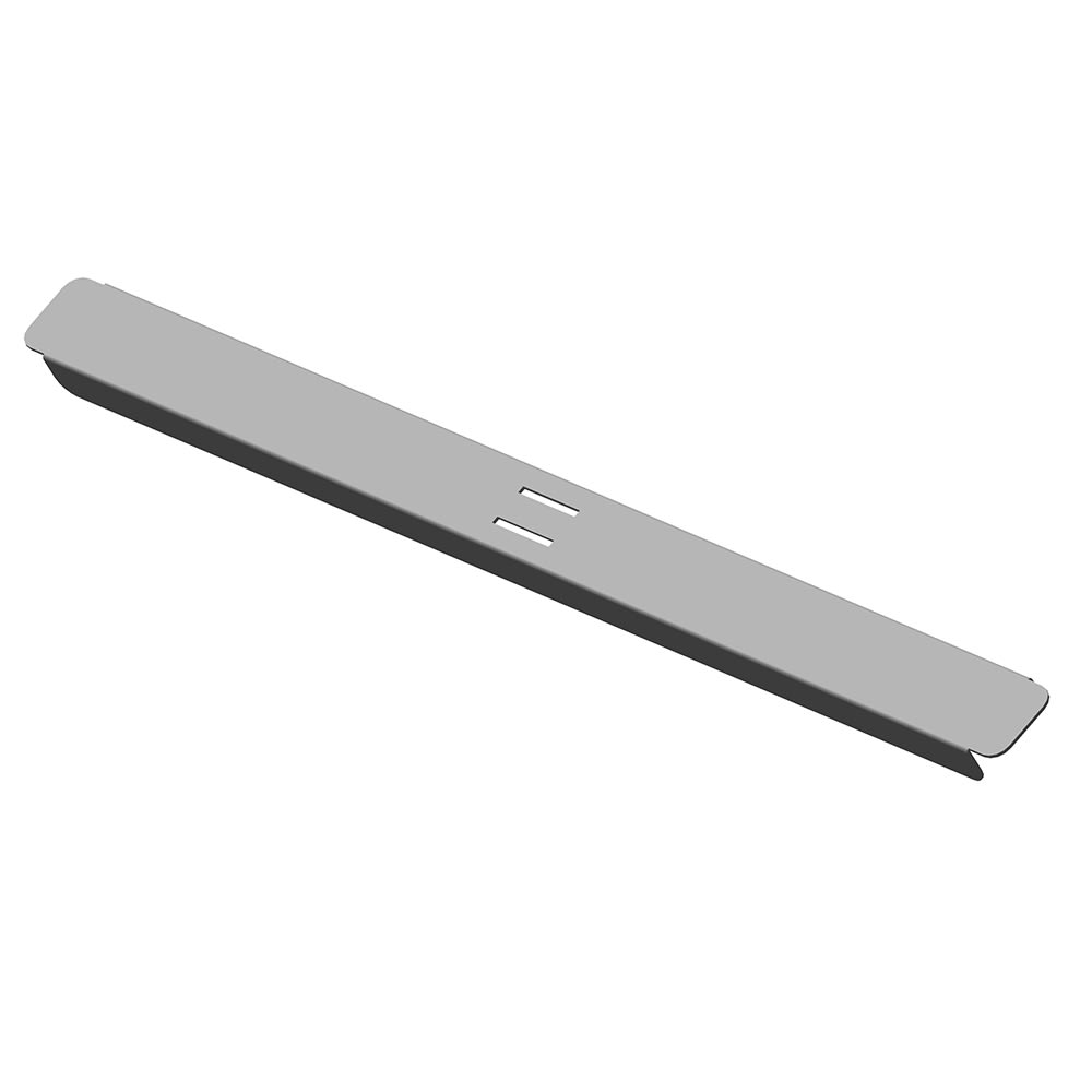 "Hoshizaki HS-5187 13.75"" Front-to-Back Divider Bar for CRMR27 8 & CRMR36 10, Stainless Steel"