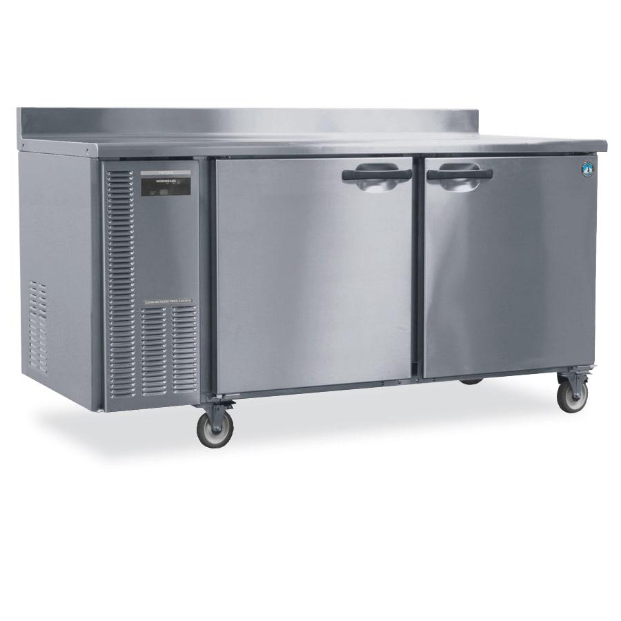 Hoshizaki HWF68A 18.8-cu ft Worktop Freezer w/ (2) Sections & (2) Doors, 115v