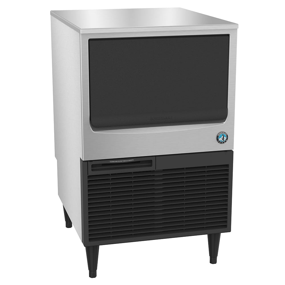 "Hoshizaki KM-115BAJ 39""H Crescent Cube Undercounter Ice Maker - 116 lbs/day, Air Cooled"