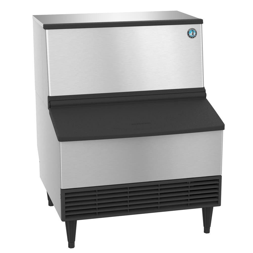 Hoshizaki KM-260BWH 268-lb/Day Crescent Cube Ice Maker w/ 100-lb Bin, Water Cooled, 115v