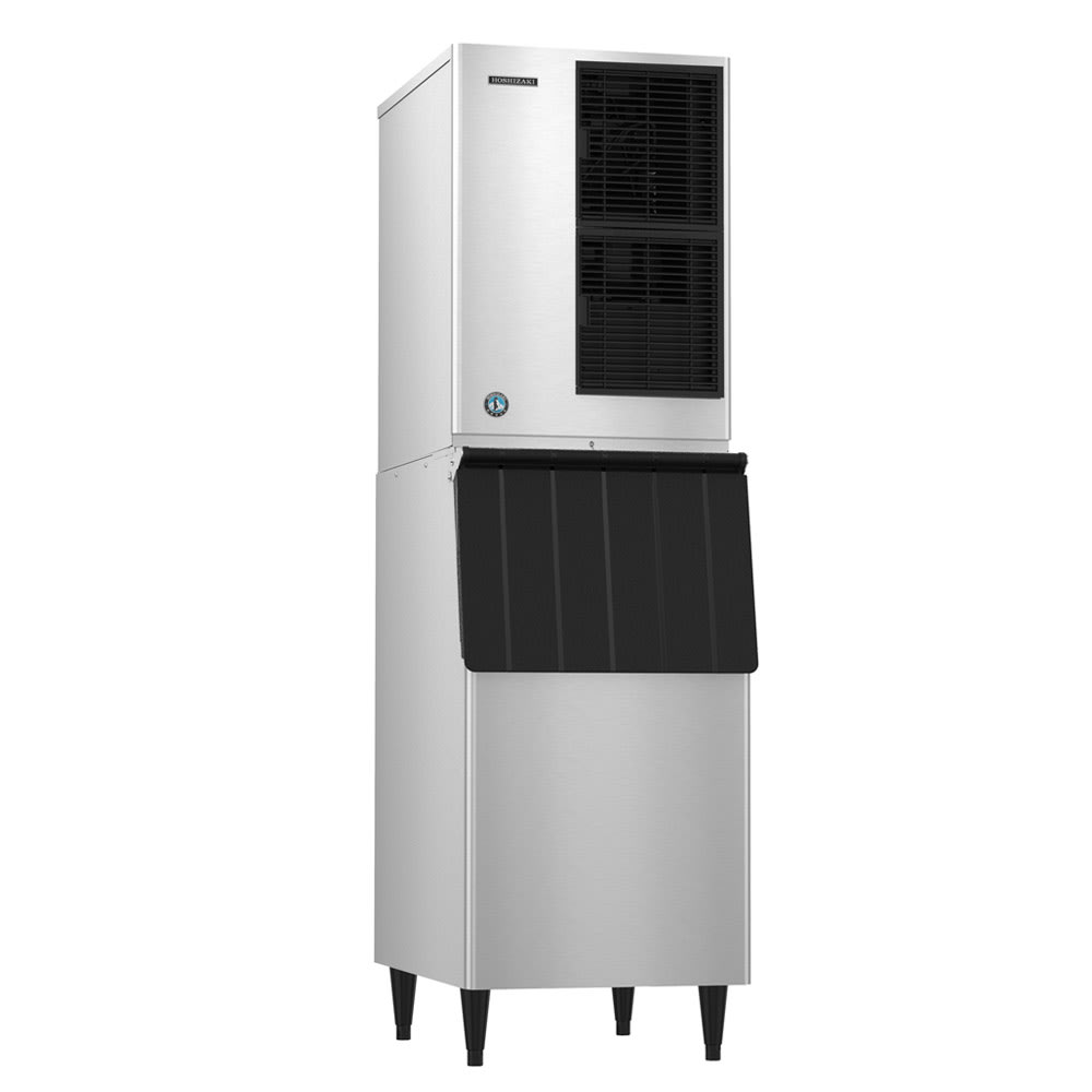 Hoshizaki KM-515MAJ/B-500PF/HS-2033 517 lb Crescent Cube Ice Maker w/ Bin - 500 lb Storage, Air Cooled, 115v