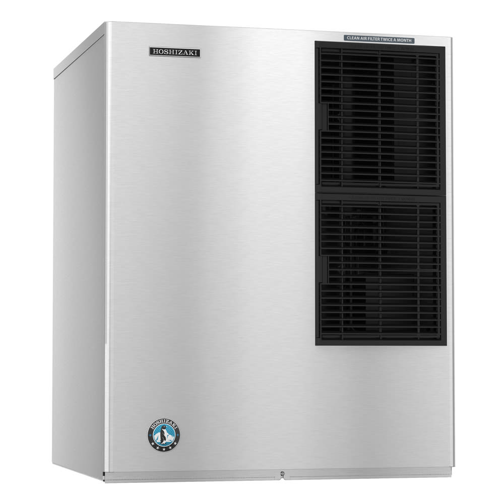 "Hoshizaki KM-901MAH 30"" Crescent Cube Ice Machine Head - 920-lb/24-hr, Air Cooled, 208-230v/1ph"