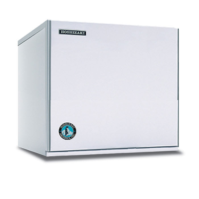 "Hoshizaki KMS-822MLH 22"" Cube Ice Machine Head - 839-lb/24-hr, Remote Cooled, 115v"