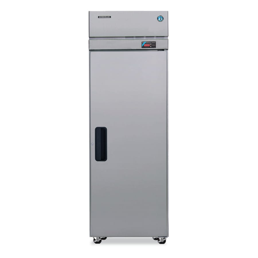 """Hoshizaki PTR1SSE-FSFS 28"""" Single Section Pass-Thru Refrigerator, (1) Solid Door, 115v"""