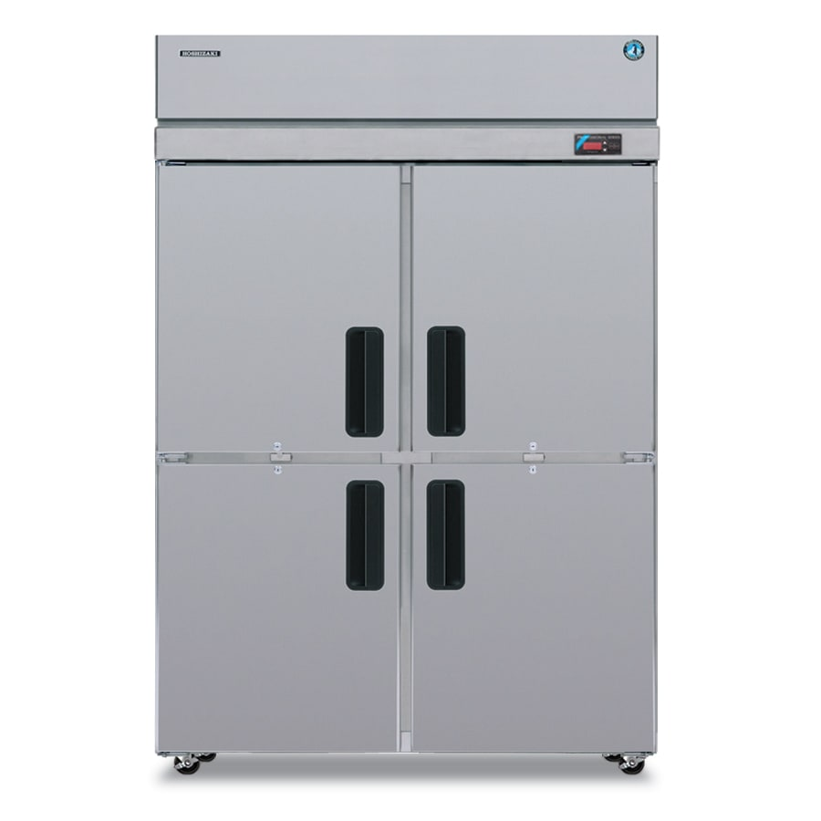 "Hoshizaki PTR2SSE-HSHS 55"" Two Section Pass-Thru Refrigerator, (4) Solid Door, 115v"