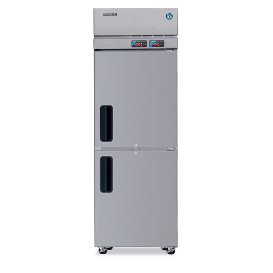 "Hoshizaki RFH1-SSB-HS 28"" One Section Commercial Refrigerator Freezer - Solid Doors, Top Compressor, 115v"