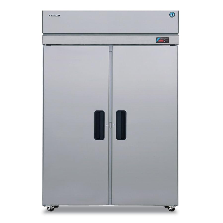 "Hoshizaki RH2-SSE-FS 55"" Two Section Reach-In Refrigerator, (2) Solid Door, 115v"