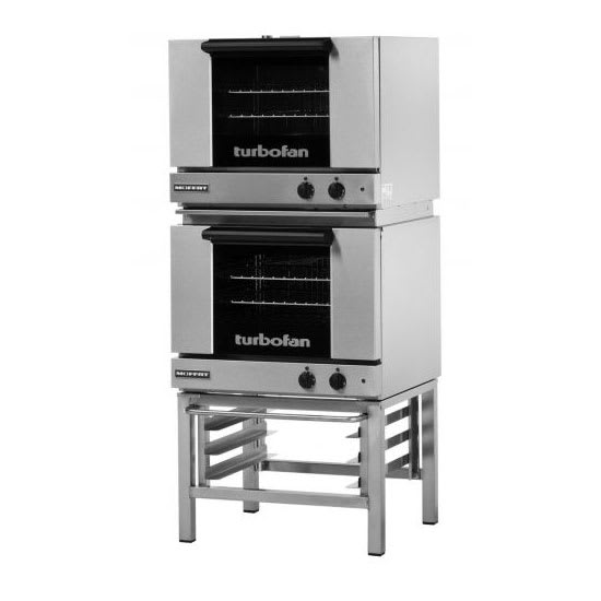 Moffat E22M3/2 Half Size Electric Convection Oven - 110 120v
