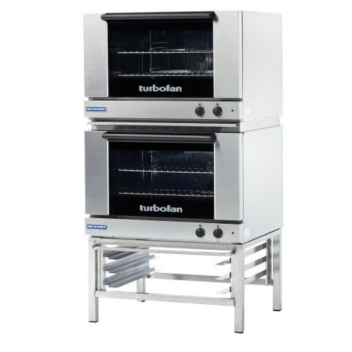 Moffat E27M3/2 Turbofan® Double Full Size Electric Convection Oven - 4.5kW, 208v/1ph
