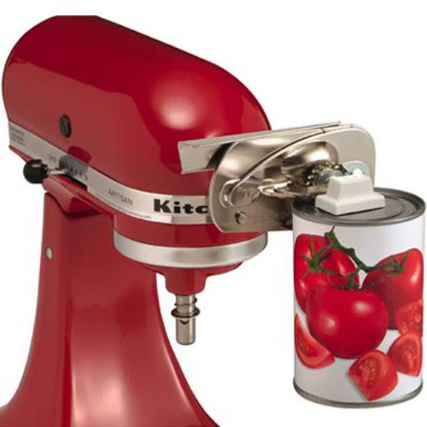 Electric Mixer Attachments ~ Kitchenaid co can opener attachment for kitchen aid stand