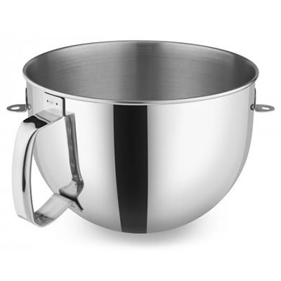 KitchenAid KA7QBOWL Stainless Steel Mixing Bowl w/ Handle for 7-qt KitchenAid Stand Mixers