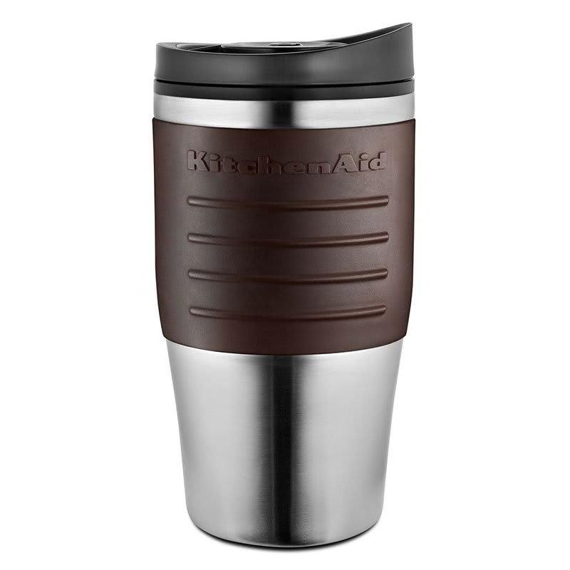 KitchenAid KCM0402TMES 18 oz Replacement Travel Mug for KCM0402 - Plastic Lid, Espresso Grip