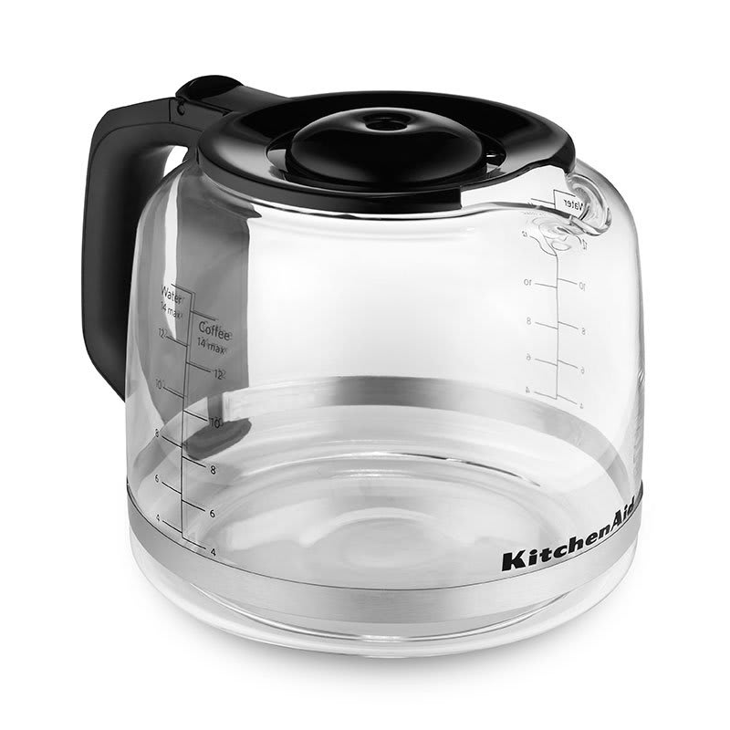 KitchenAid KCM14GC 14-cup Glass Carafe for KCM1402 - Plastic Lid, Handle, Glass