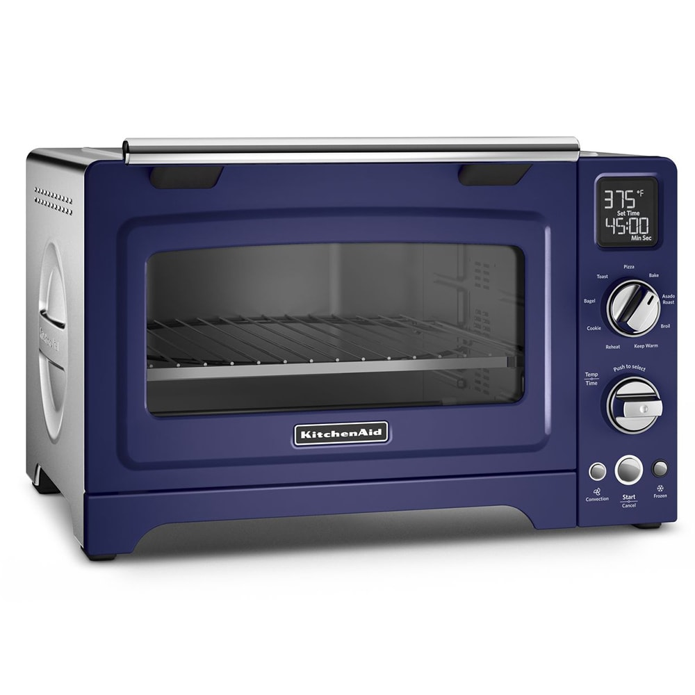 "KitchenAid KCO275BU 12"" Countertop Convection Oven w/ (9) Pre-Programmed Functions, Cobalt Blue"