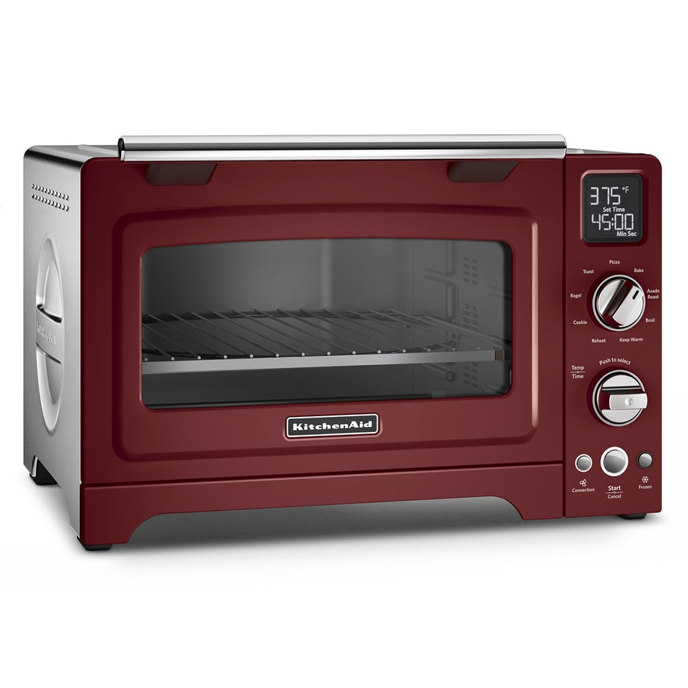 "KitchenAid KCO275GC 12"" Countertop Convection Oven w/ (9) Pre-Programmed Functions, Gloss Cinnamon"