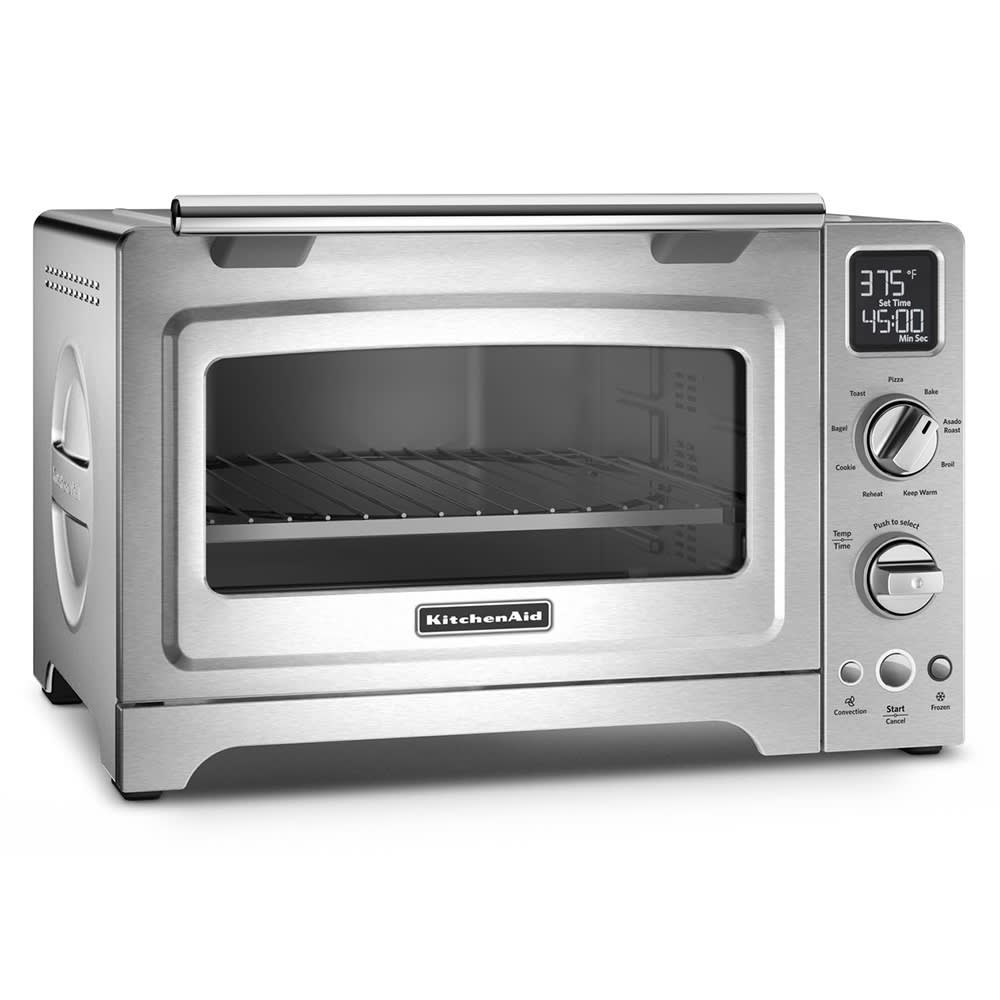 """KitchenAid KCO275SS 12"""" Countertop Convection Oven w/ (9) Pre-Programmed Functions, Stainless"""