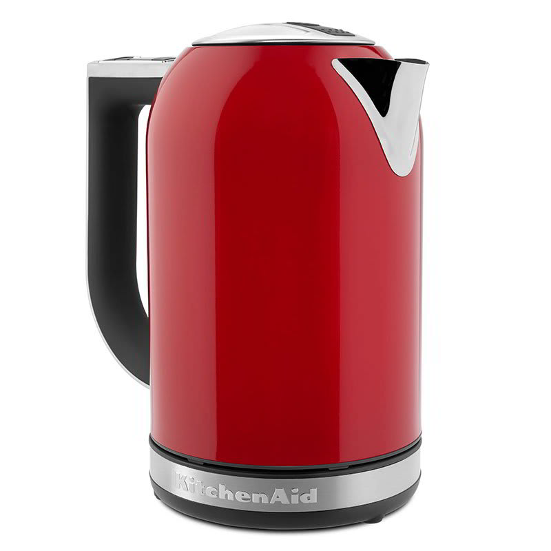 Kitchenaid Kek1722er 1 7l Electric Kettle W Cup Markings Digital Temperature Display Empire Red