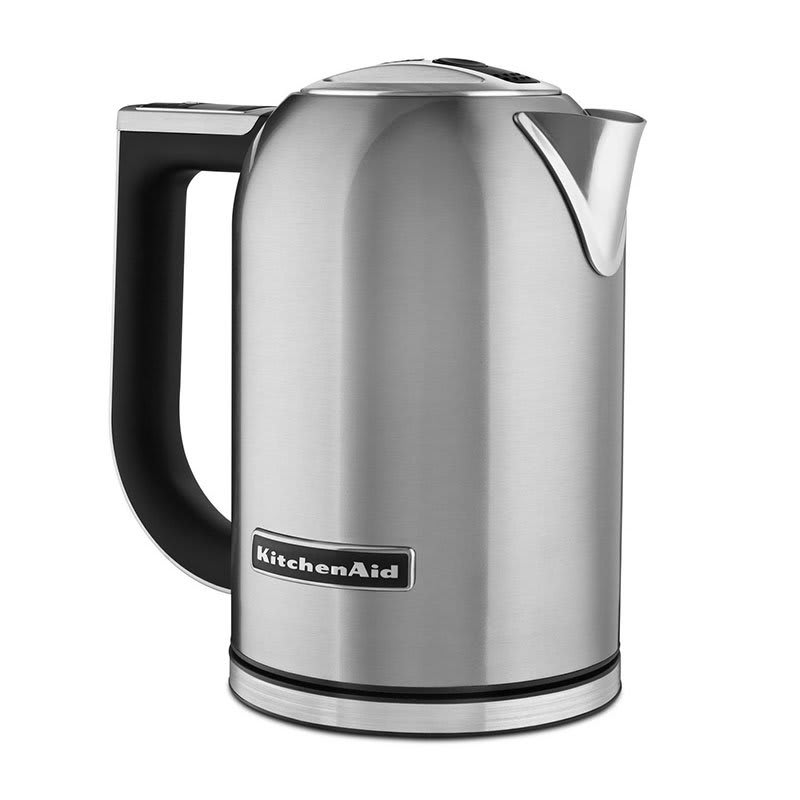 KitchenAid KEK1722SX 1.7L Electric Kettle w/ Cup Markings & Digital Temperature Display, Stainless