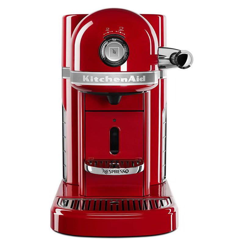 KitchenAid KES0503ER0 Nespresso® 1.3L Espresso Coffee Maker w/ Programmable Settings, Red