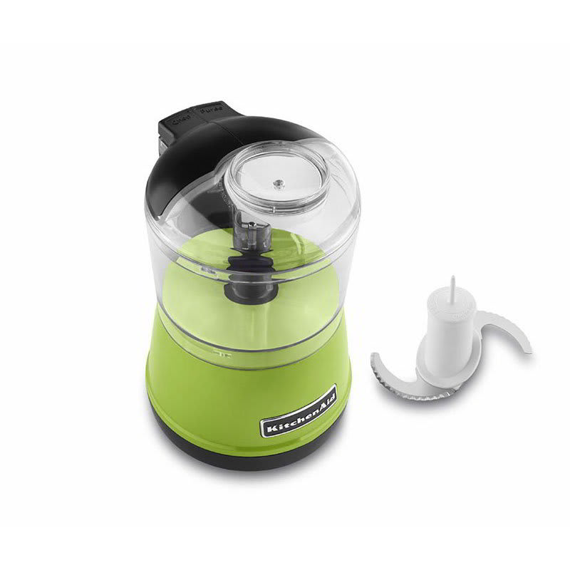 Kitchenaid Kfc3511ga 2 Sd Food Chopper W 3 5 Cup Capacity Bowl Lid Green Apple