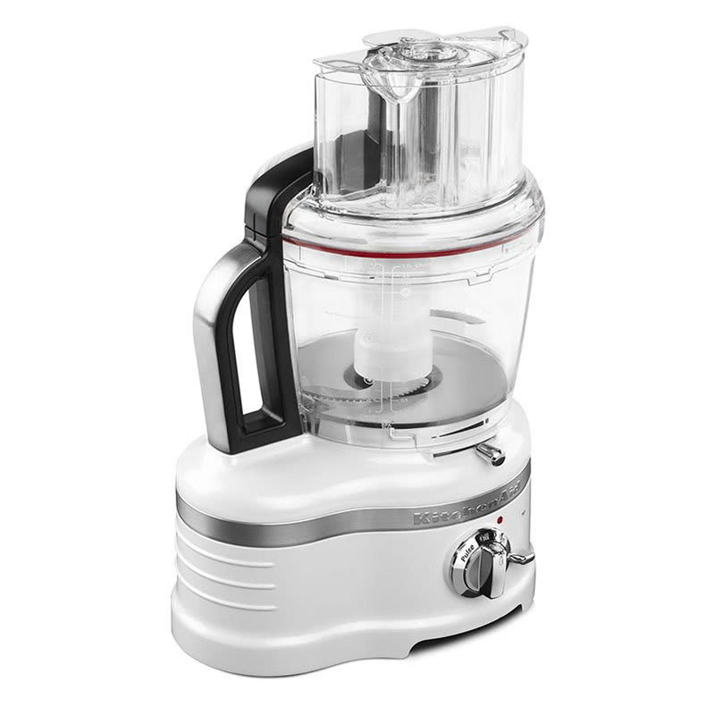 KitchenAid KFP1642FP Pro Line 2-Speed Food Processor w/ 16-Cup Capacity, Frosted Pearl