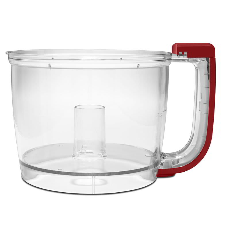 KitchenAid KFP77WBER Additional or Replacement Bowl for Kitchen Aid 7 Cup Food Processor, Empire Red