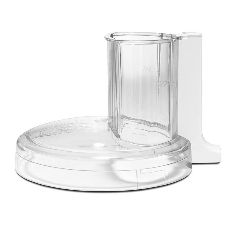 KitchenAid KFP7WWCWH Work Bowl Cover for Wide Mouth Food Processor, White