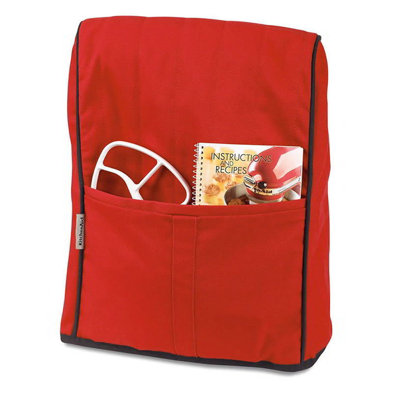 KitchenAid KMCC1ER Countertop Appliance Or Mixer Cover, Empire Red