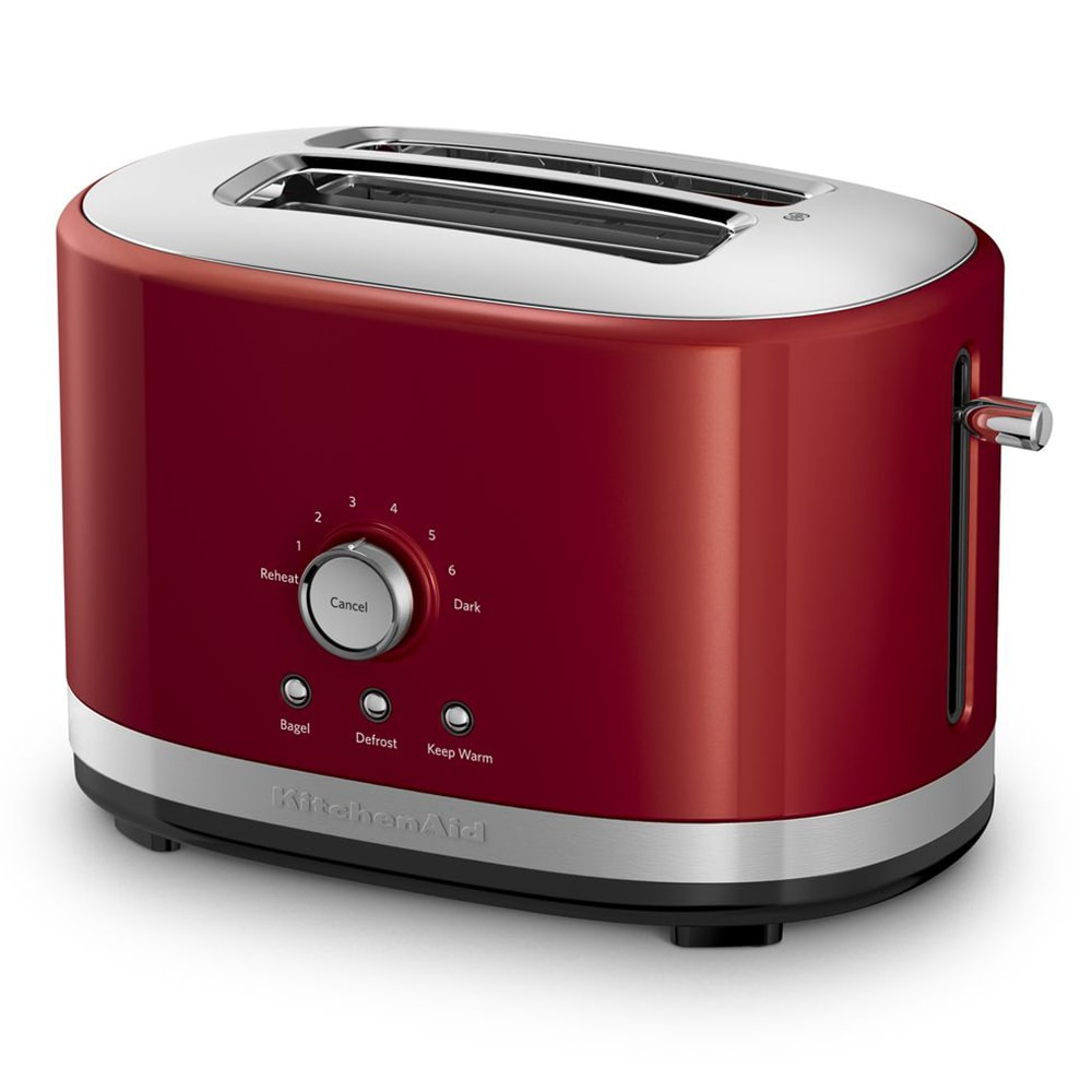 KitchenAid KMT2116ER 2 Slice Toaster w/ Manual High-Lift Lever, Empire Red