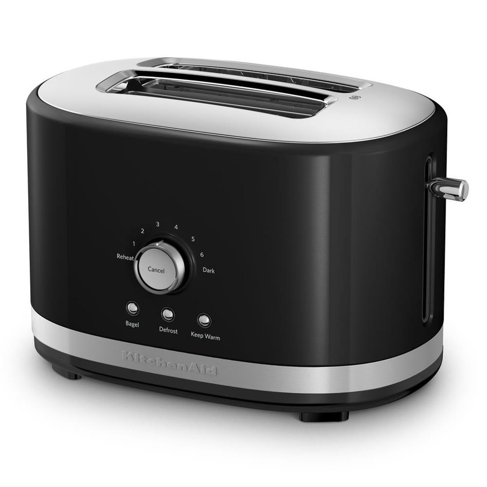 KitchenAid KMT2116OB 2-Slice Toaster w/ Manual High-Lift Lever, Onyx Black