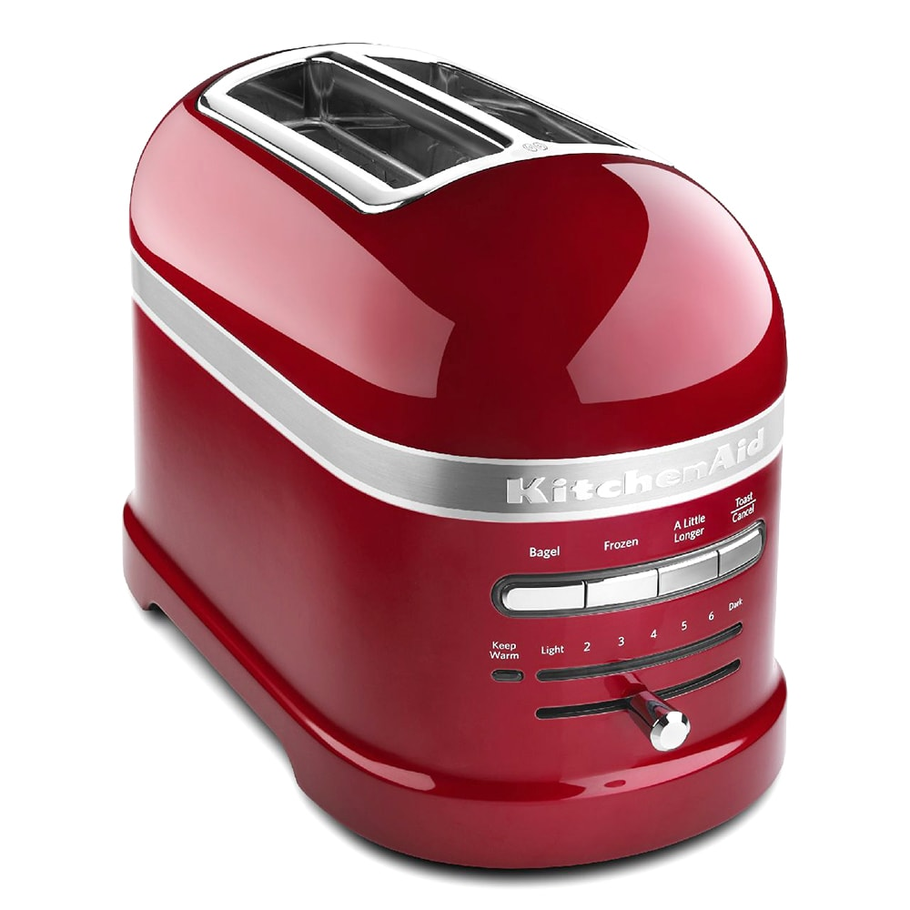 KitchenAid KMT2203CA Pro Line 2-Slice Automatic Toaster - Candy Apple Red