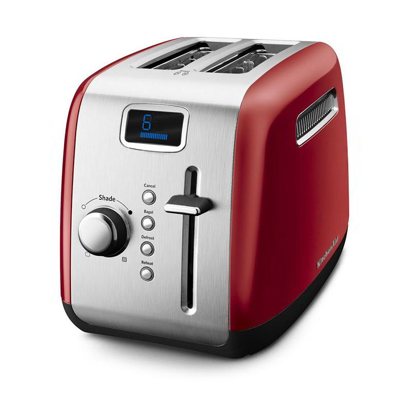 KitchenAid KMT222ER 2-Slice Toaster w/ Manual High-Lift Lever, Empire Red