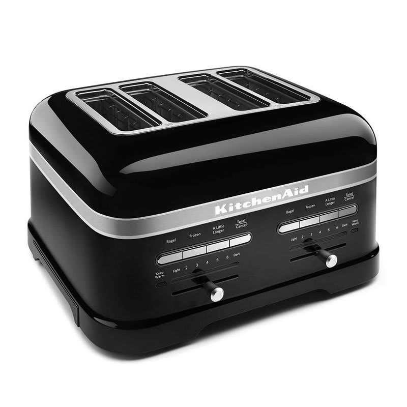 KitchenAid KMT4203OB Pro Line 4 Slice Automatic Toaster - Onyx Black
