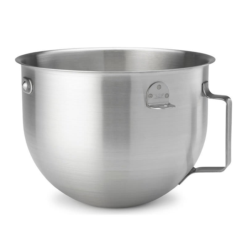 KitchenAid KN25NSF Stainless Steel Mixing Bowl for 5-qt KitchenAid KM Series Mixers