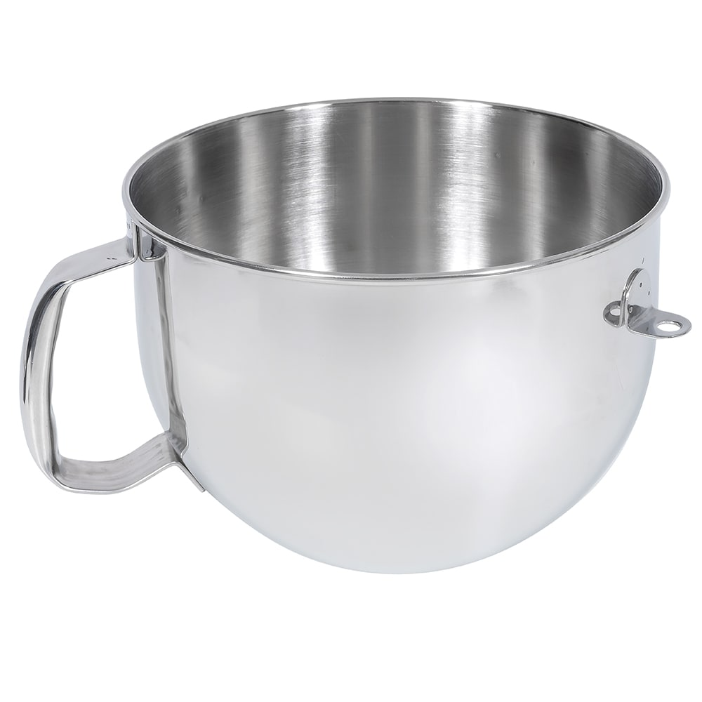 KitchenAid KN2B6PEH Stainless Steel Bowl w/ Handle for 6 qt KitchenAid Stand Mixers